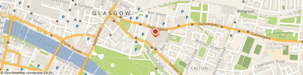 Route/map/directions to CATCHY NAME LIMITED, G40 2SR Glasgow, 25 Kent Street