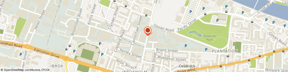 Route/map/directions to Guardion Security Ltd, G51 2SD Glasgow, 135 WHITEFIELD RD, SECURITY HOUSE