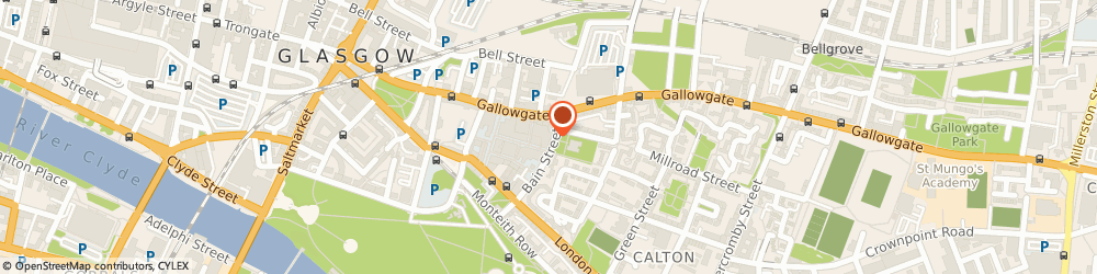 Route/map/directions to Johnny's Tattoo Studio, G40 2LA Glasgow, 28A Bain St