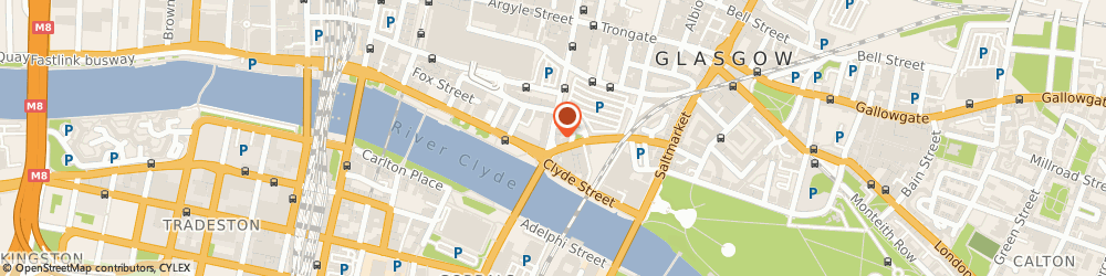 Route/map/directions to 2Canvas Ltd, G1 4LR Glasgow, 155 Stockwell Street