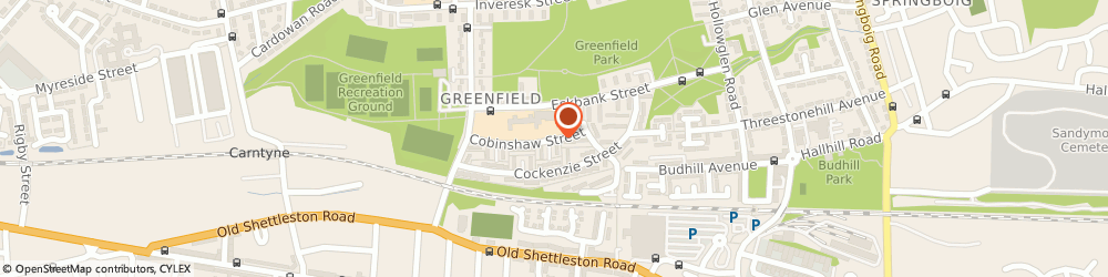 Route/map/directions to Thorntree Primary School, G32 6XL Glasgow, 55 COBINSHAW ST