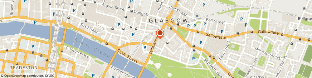 Route/map/directions to Anjy Panj's Archangel Tattoos, G1 5LF Glasgow, 103 Saltmarket