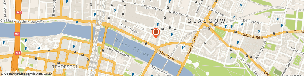 Route/map/directions to The Pipework Health & Leisure Club, G1 4NH Glasgow, 10 Metropole Lane