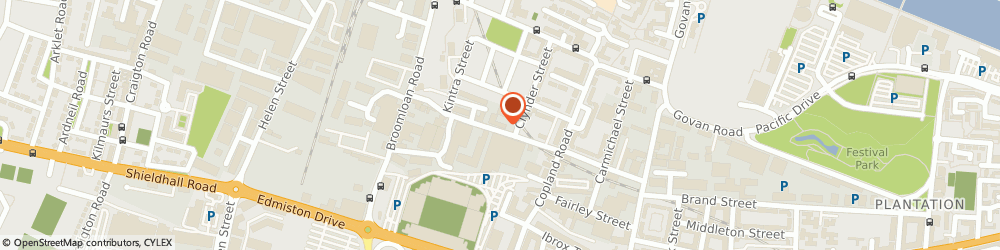 Route/map/directions to The Quickening, G51 2RL Glasgow, 156 Woodville St