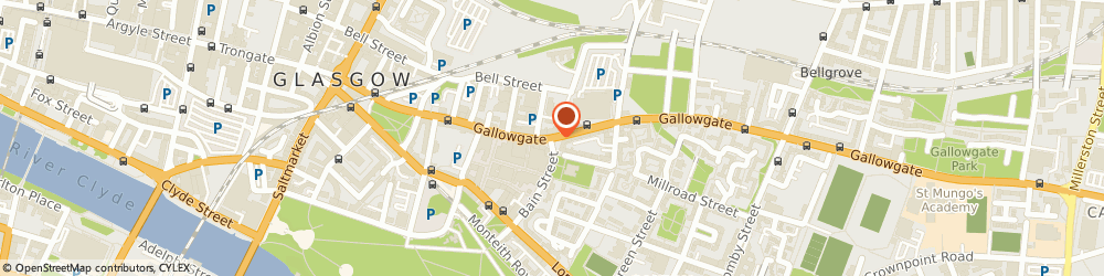 Route/map/directions to Gallowgate Bedding, G4 0TP Glasgow, 247-249, GALLOWGATE