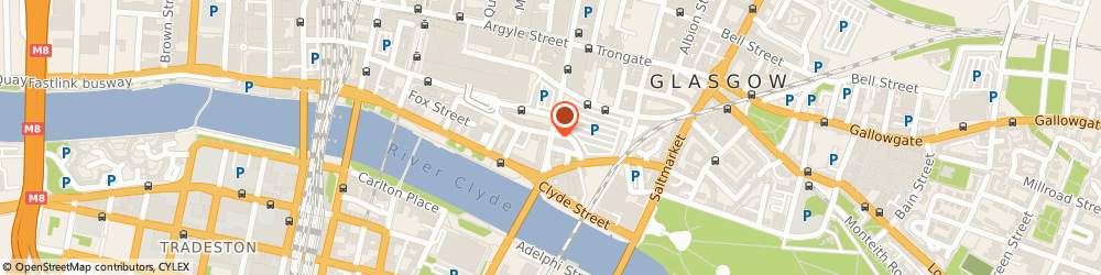 Route/map/directions to 8 Ball Pool Hall (Glasgow) Ltd, G1 4HW Glasgow, 204 Howard Street