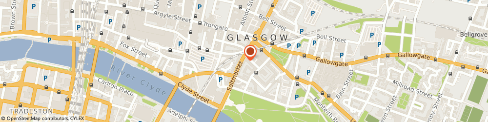 Route/map/directions to Harding & Company, G1 5LE Glasgow, 79 Saltmarket