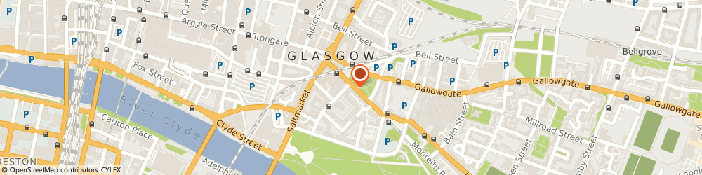 Route/map/directions to Contagious , G1 5PP Glasgow, 76 London Road