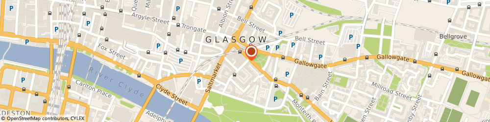 Route/map/directions to Right Angle Design & Marketing, G1 5PE Glasgow, 13 JAMES MORRISON STREET