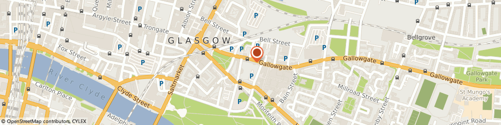 Route/map/directions to New Homeworld Ltd, G1 5DR Glasgow, 182/184 GALLOWGATE