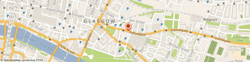 Route/map/directions to Glasgow Bed Centre, G1 5DR Glasgow, 174 Gallowgate