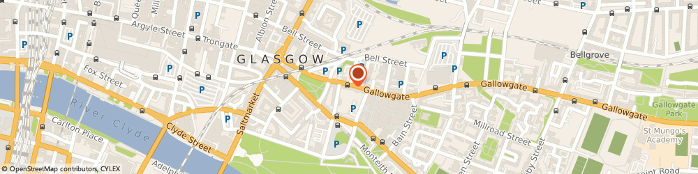 Route/map/directions to Your Bed Centre Ltd, G1 5DR Glasgow, 170-174 Gallowgate