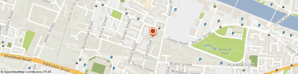 Route/map/directions to First Response, G51 2QU Glasgow, 154 CARMICHAEL STREET