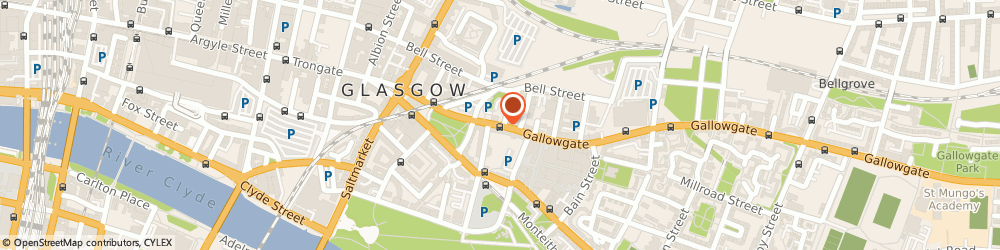 Route/map/directions to Thomson Cycles, G1 5EB Glasgow, 163 Gallowgate