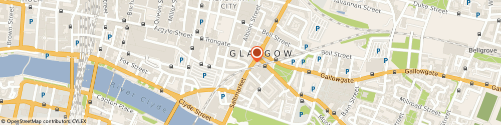 Route/map/directions to Believer Tattoo, G1 5LY Glasgow, 16 Saltmarket