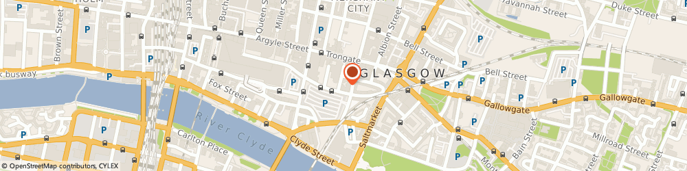 Route/map/directions to Made By Crunch, G1 5QH Glasgow, Studio 119, South Block, 60 Osborne Street