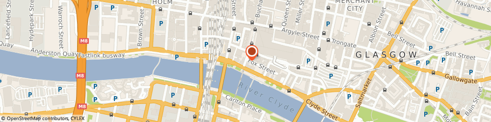 Route/map/directions to The Studio, G1 4AX Glasgow, 8 Dixon Street