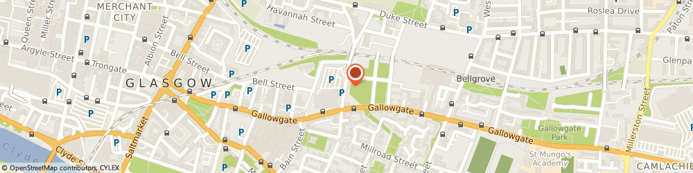 Route/map/directions to Autoshine, G4 0TZ Glasgow, 38 BARRACK STREET