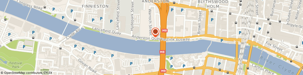 Route/map/directions to Rothesay Carriers, G3 8BX Glasgow, 38 ANDERSTON QUAY