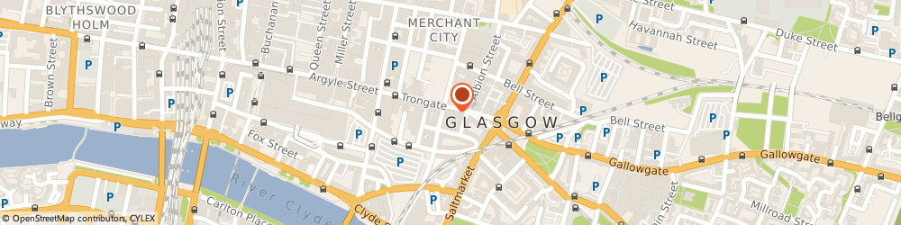 Route/map/directions to Abbey Chemist, G1 5HB Glasgow, 83 Trongate