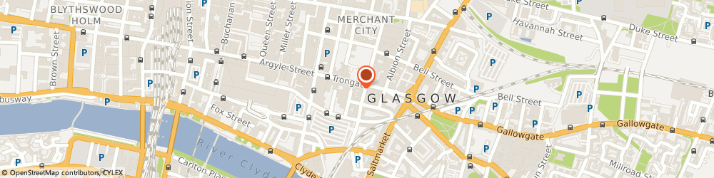 Route/map/directions to Mrs Mitchell's Sweetie Shop, G1 5HD Glasgow, 117 Trongate
