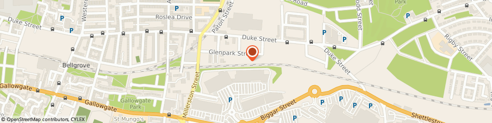 Route/map/directions to Caledonian Landscapes, G31 1NZ Glasgow, 136 Glenpark Street