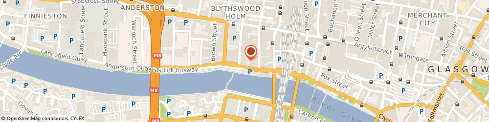 Route/map/directions to Axa Insurance, G2 8JH Glasgow, 20 York St
