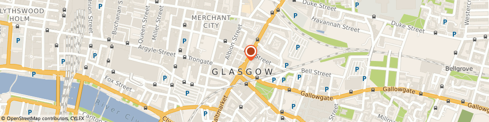Route/map/directions to Dial a Drink-Glasgow, G1 1LX Glasgow, 31 High Street