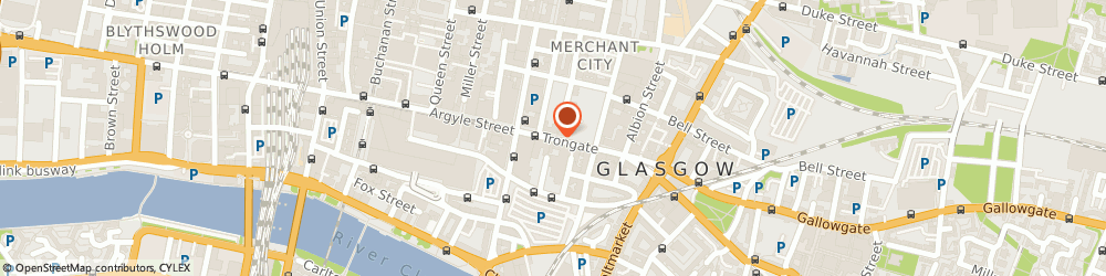 Route/map/directions to Clydesdale Bank PLC, G1 5EN Glasgow, 154 TRONGATE