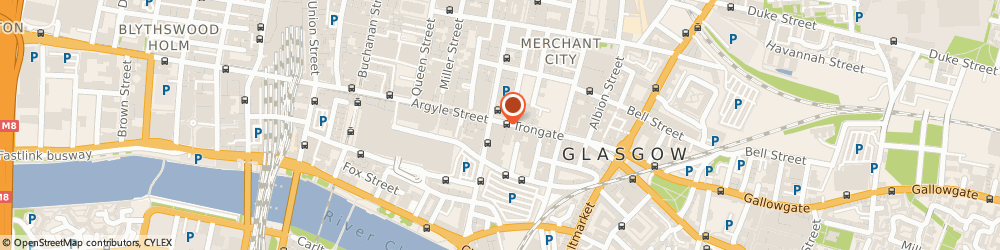 Route/map/directions to YOURPLACE PROPERTY MANAGEMENT LIMITED, G1 5HF Glasgow, GRANITE HOUSE, 177 TRONGATE