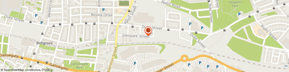 Route/map/directions to Reiclad Ltd, G31 1PG Glasgow, 162 Glenpark Street