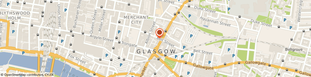 """Route/map/directions to """"Cupcake"""" Glasgow, G1 1LQ Glasgow, 70 Bell St, Merchant City"""