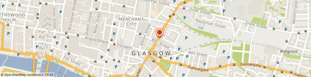 Route/map/directions to Bensons For Beds - Glasgow, G1 1ND Glasgow, 61 High Street
