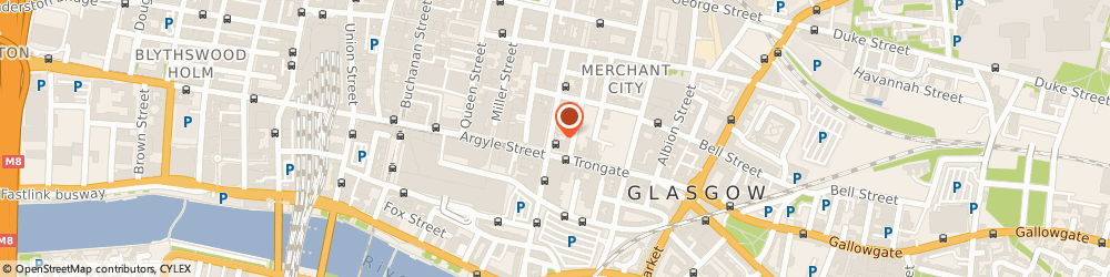 Route/map/directions to First Floor Hairdressing, G1 1UL Glasgow, 12 Glassford St