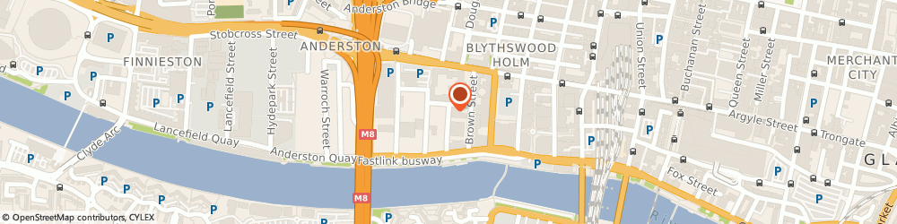 Route/map/directions to Anderston Valeting Services, G2 8PJ Glasgow, 39 CARRICK ST