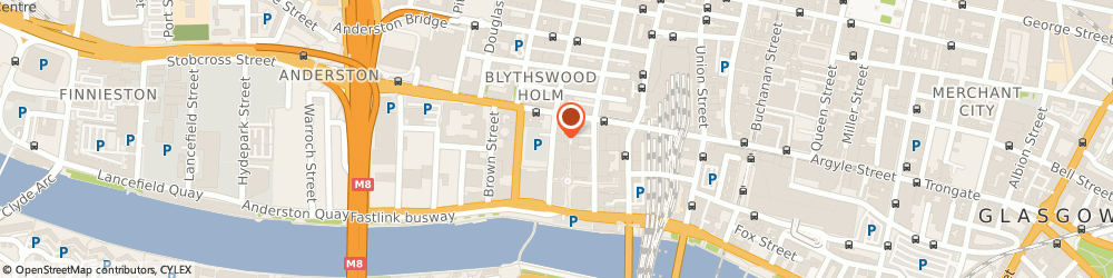 Route/map/directions to Highcroft, G2 8JX Glasgow, 74 YORK ST