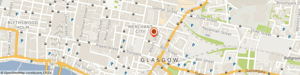 Route/map/directions to Merchant City Properties Ltd, G1 1NY Glasgow, 71 Albion St