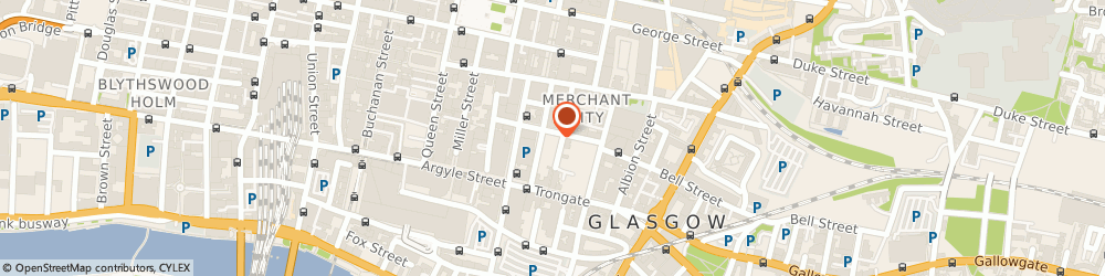 Route/map/directions to Citizens Advice Direct, G1 1UZ Glasgow, 51 Wilson St, Brunswick House