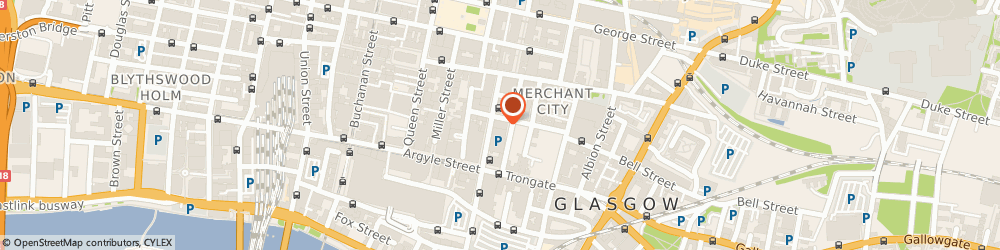 Route/map/directions to William Wylie Personal Training, G1 1UL Glasgow, 56 Glassford St