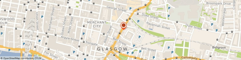 Route/map/directions to Natural Health Service, G1 1PH Glasgow, 123 High St
