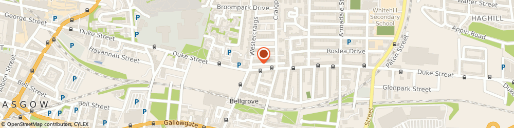 Route/map/directions to Sinclair Mccormick & Giusti Martin, G31 2XQ Glasgow, 3 Annfield Pl