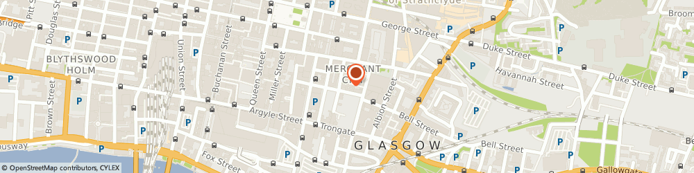 Route/map/directions to Merchant City Barbers, G1 1SS Glasgow, 8 Wilson Street