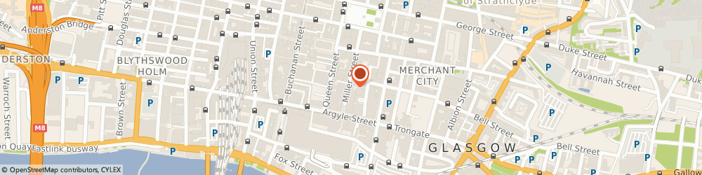 Route/map/directions to Arrivo Consulting Ltd, G1 1DT Glasgow, 42 Miller St