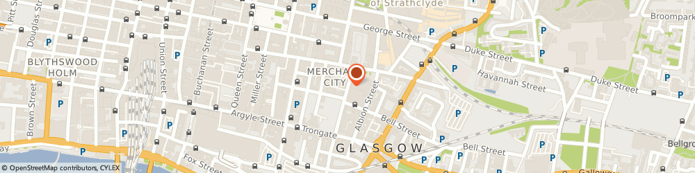 Route/map/directions to P4P Creative, G1 1NP Glasgow, 93 Candleriggs