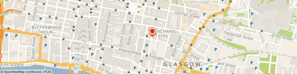 Route/map/directions to Citation Taverne & Restaurant, G1 1HD Glasgow, 40 Wilson Street