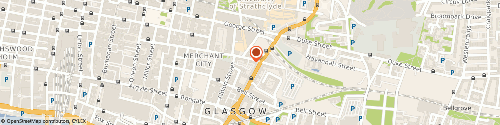 Route/map/directions to Gillian I Coles Book-Keeping Services Ltd., G1 1HA Glasgow, 27 INGRAM STREET