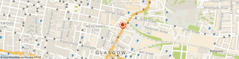 Route/map/directions to Databusters, G1 1HA Glasgow, 15 Ingram St