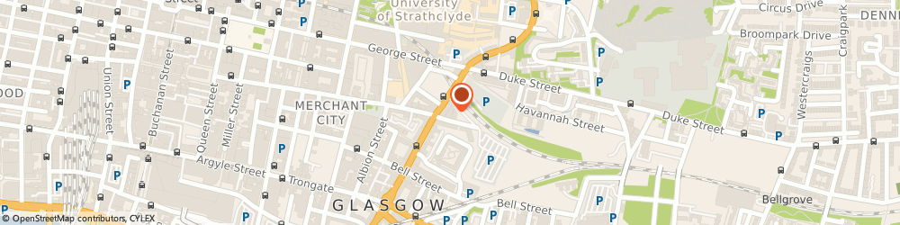 Route/map/directions to High St Glasgow Rail Station, G1 1PZ Glasgow, HIGH ST GLASGOW, GLASGOW CITY G1 114 FT W