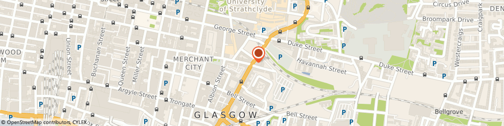 Route/map/directions to Michael Lyon Solicitors Ltd, G1 1QN Glasgow, 165 High Street