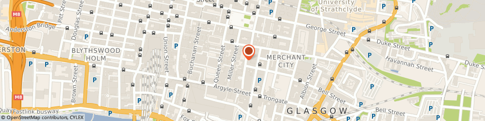 Route/map/directions to Charlotte Naturals SPA, G1 1TS Glasgow, 65 Virginia Street